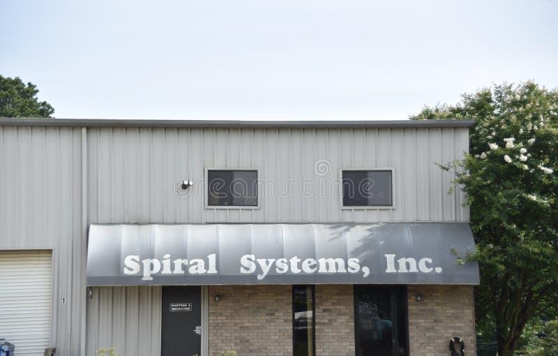 Spiraalvormige Systemen, N.v., Nesbit, de Mississippi royalty-vrije stock afbeelding
