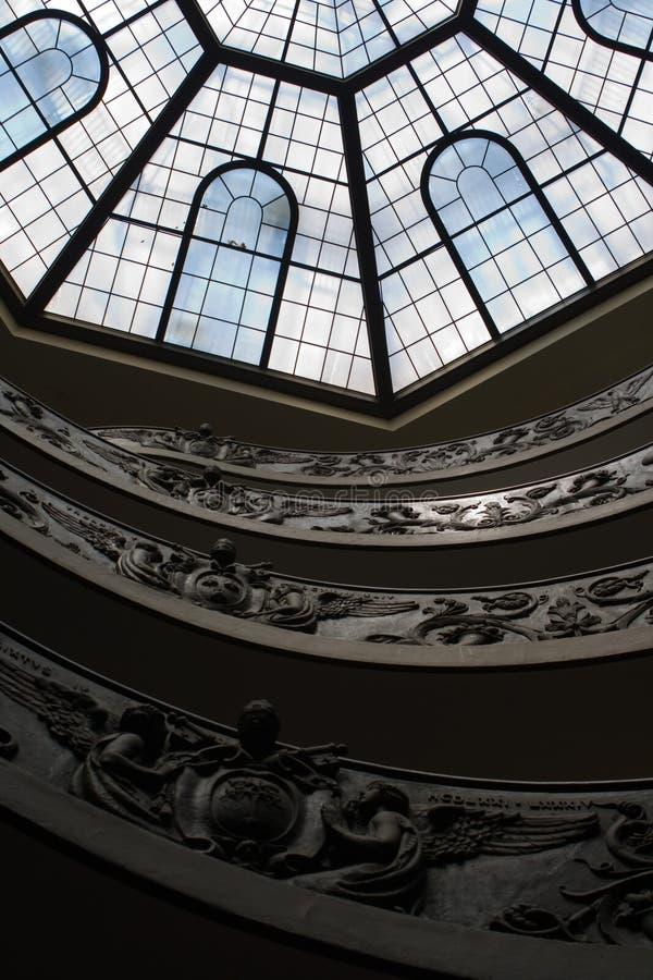 Spiraalvormige Treden van het Museum van Vatikaan royalty-vrije stock foto's
