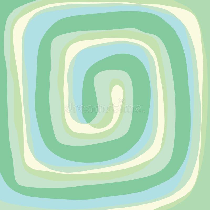 Download Spiral stock vector. Illustration of green, flow, illustration - 22093263