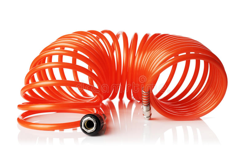 Download Spiral Air Hose stock photo. Image of disconnected, coupling - 33526538