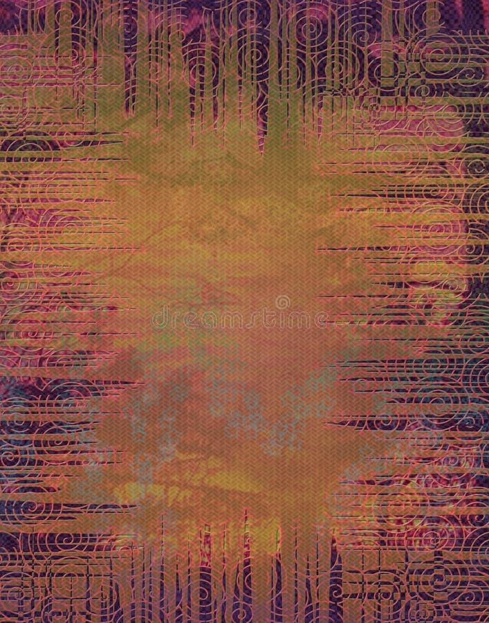 Download Spiral Art Background Pattern Stock Illustration - Image: 5446267