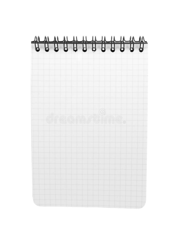 Download Spiral Bound Note Pad Isolated Stock Image - Image: 12822767