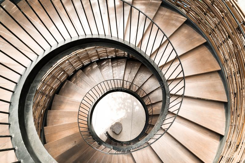 Download Spiral Circle Staircase Decoration Interior Stock Image   Image Of  Stair, Black: 108133543