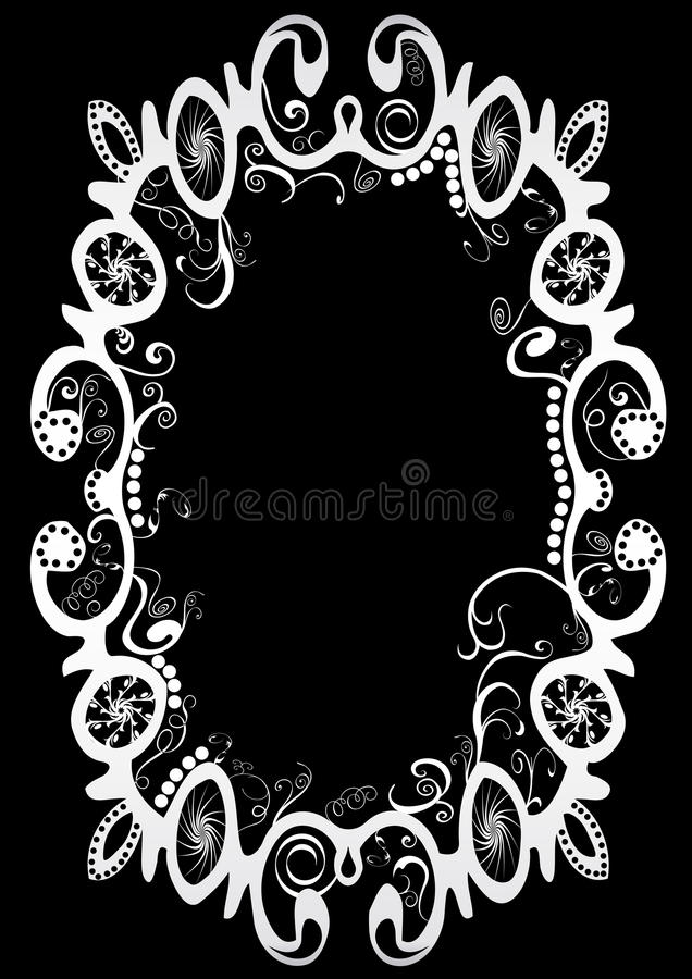 Spiral frame royalty free stock images