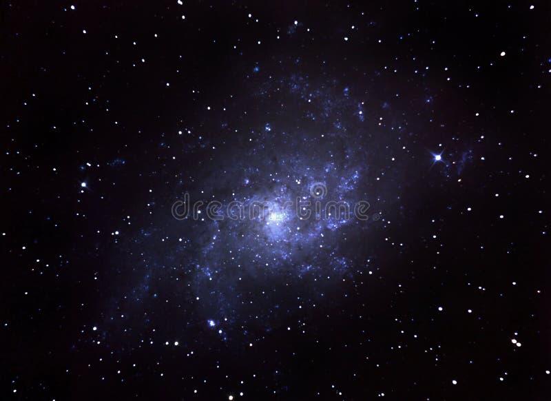 Spiral galaxy stock illustration