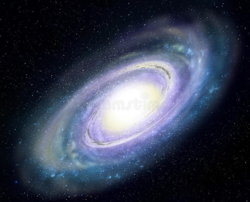 Download Spiral Galaxy stock illustration. Image of science, space - 20262714
