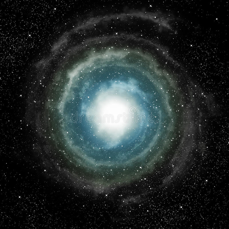Spiral Galaxy In Deep Outer Space Royalty Free Stock Photos