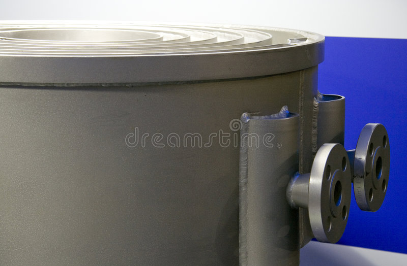 Download Spiral heat exchanger stock photo. Image of hole, test - 8218978
