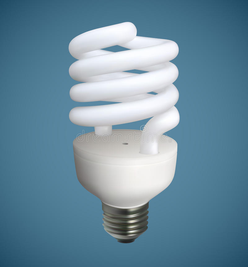 Free Spiral Light Bulb Royalty Free Stock Photography - 60119697