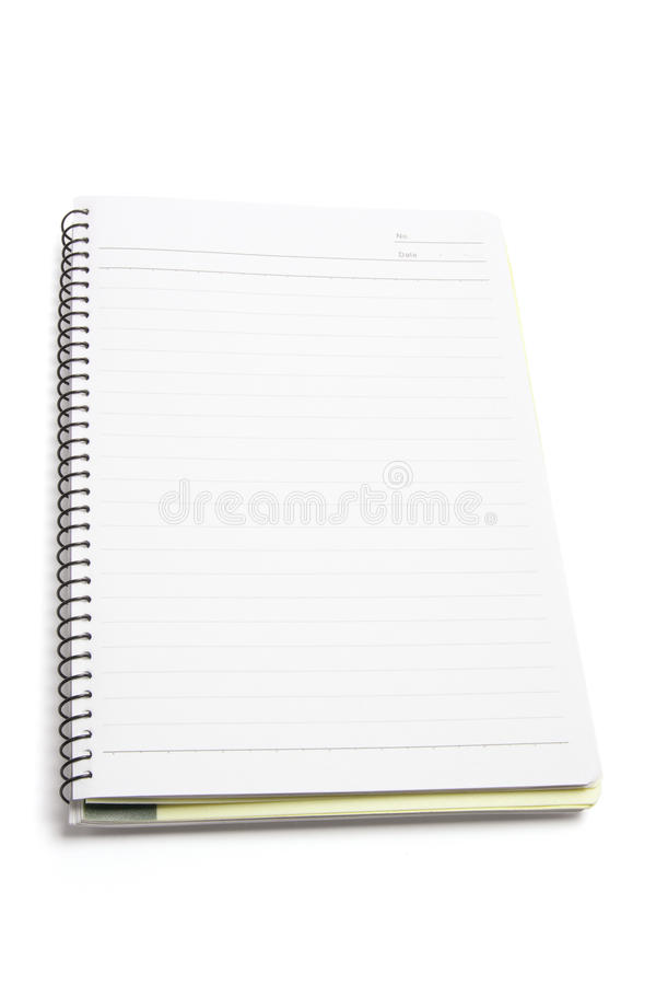 Download Spiral Note Book stock image. Image of spiral, object - 9765339