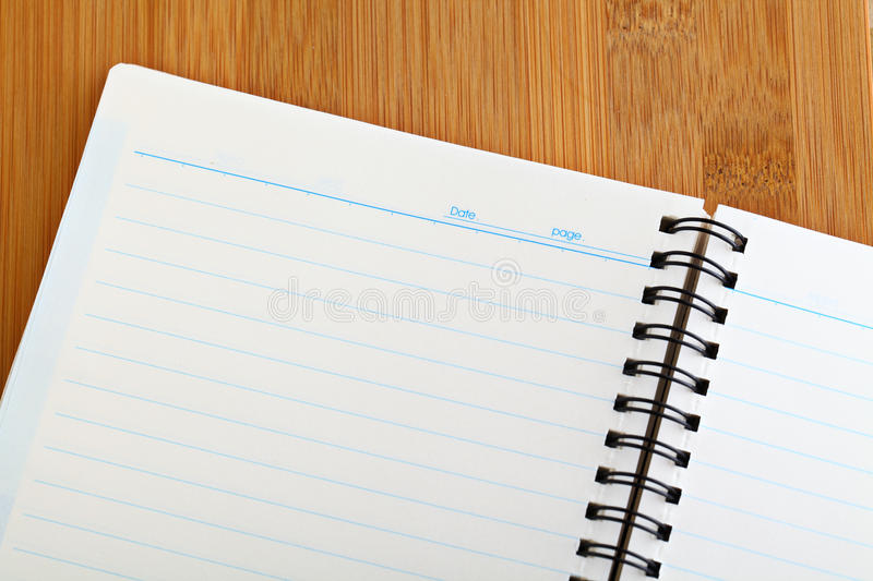 Download Spiral Note Book Background Stock Image - Image: 30584305