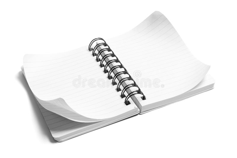 Download Spiral Note Pad stock image. Image of spiral, cutout, life - 9870659