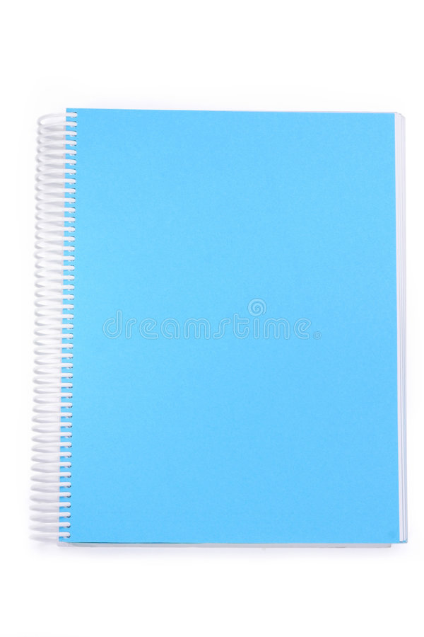 A Spiral Notebook. Royalty Free Stock Image