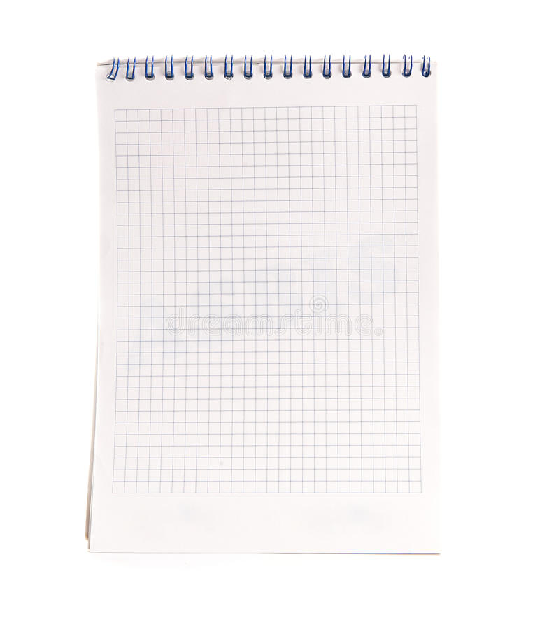 Spiral Notebook Stock Photography