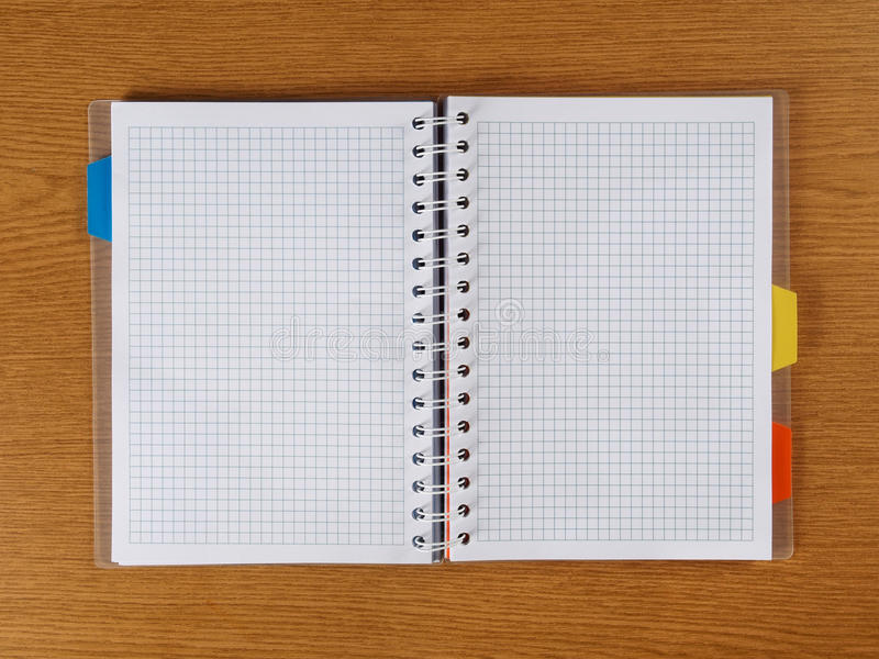 Download Spiral Notebook stock image. Image of empty, page, exercise - 37993635
