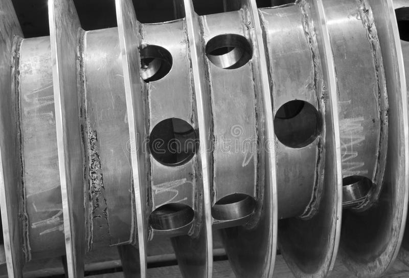 Download Spiral  From Part Of Decanter Machine Stock Image - Image: 25761167