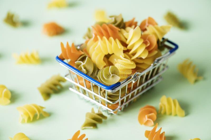 Spiral Pasta royalty free stock photos