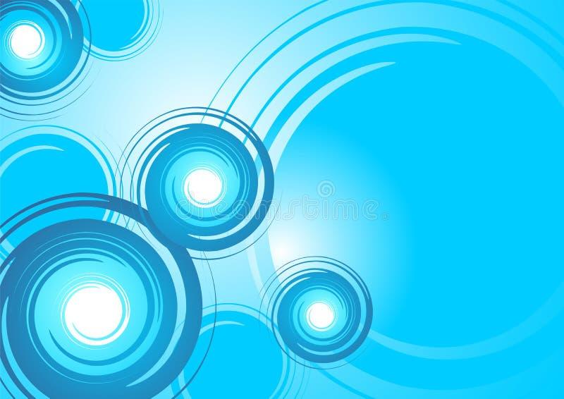 Spiral_pattern_01 stock de ilustración