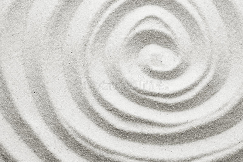 Spiral In The Sand Royalty Free Stock Photos