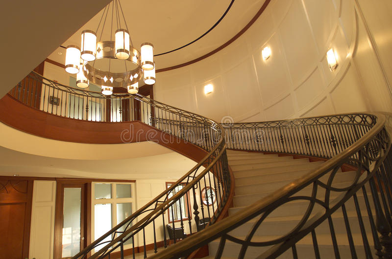 Download Spiral staircase stock photo. Image of estate, design - 12728154