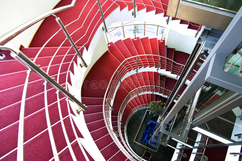 Download Spiral staircase stock photo. Image of inside, unique - 15428444