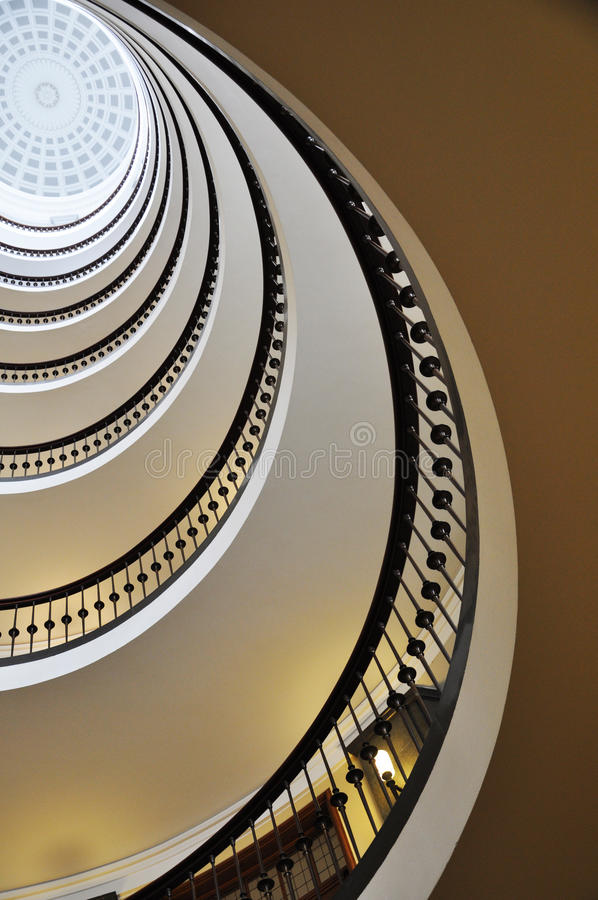 Download Spiral staircase stock image. Image of ancient, inside - 16530357