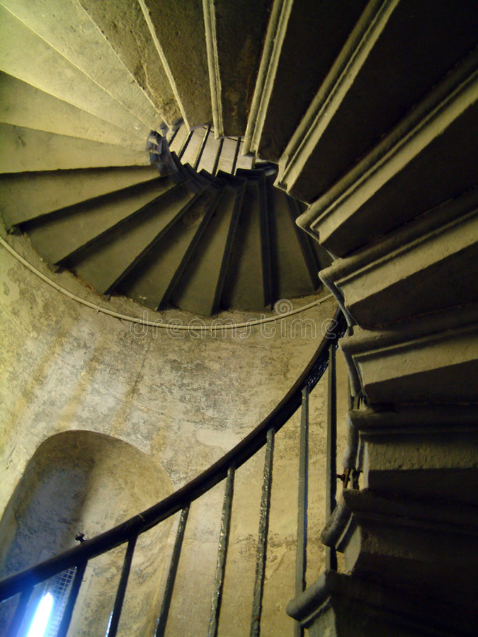 Free Spiral Staircase Stock Photography - 173342