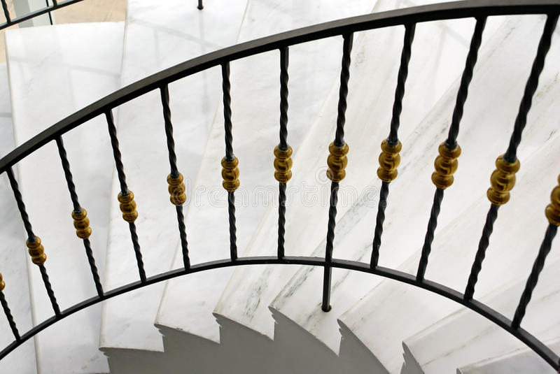 Download Spiral staircase stock image. Image of snail, stone, handrail - 17667469