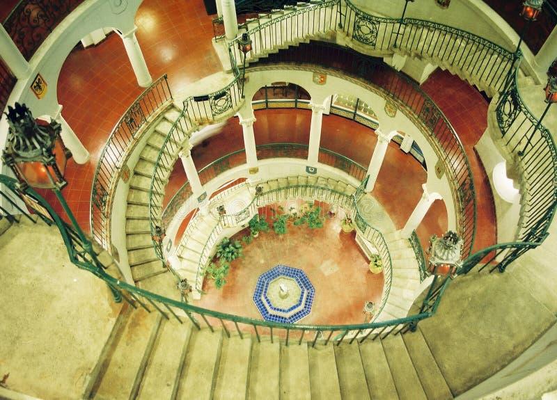 spiral staircase στοκ εικόνες