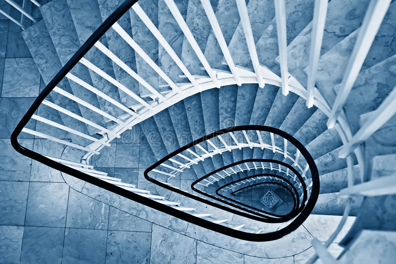 Download Spiral staircase stock image. Image of business, staircase - 21982985