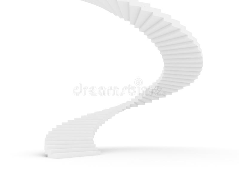 Download Spiral staircase stock illustration. Illustration of stair - 23081581