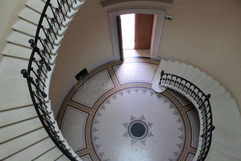 Spiral staircase royalty free stock images
