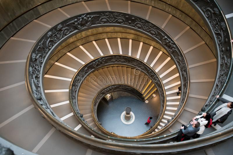 Download Spiral Staircase Of Museum Of Vatican In Rome In Italy Editorial  Photography   Image Of