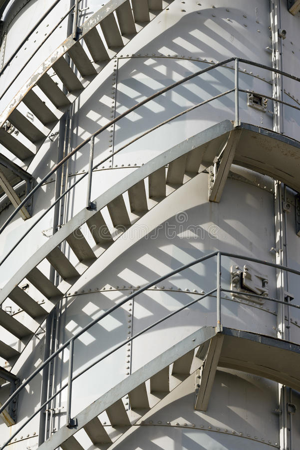 Download Spiral Staircase Stock Photo. Image Of Tower, Factory   50730434