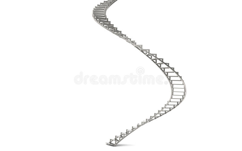 Spiral Stairs Royalty Free Stock Images