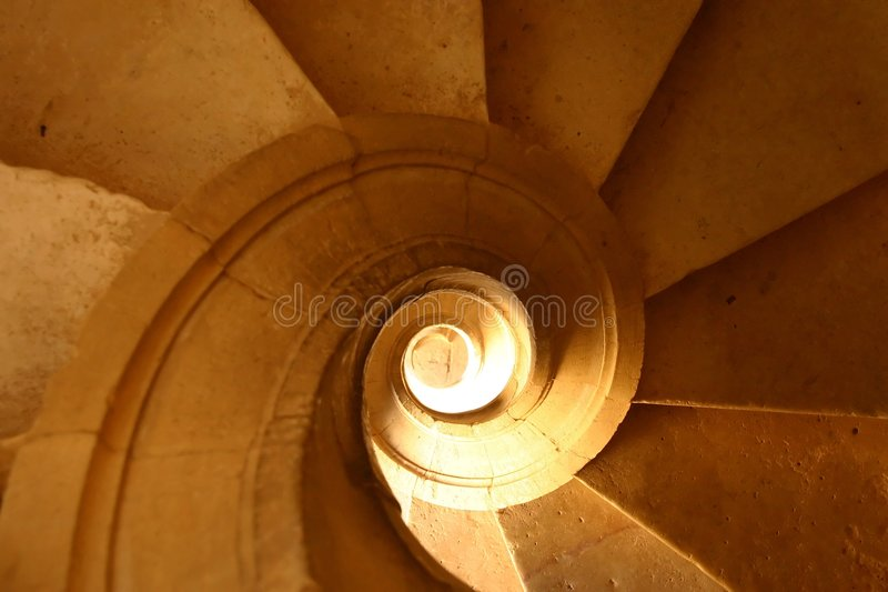 Download Spiral Stairs Royalty Free Stock Photos - Image: 3434048