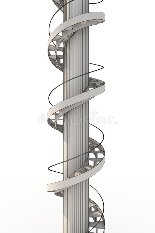 Free Spiral Stairs Stock Photography - 8987092