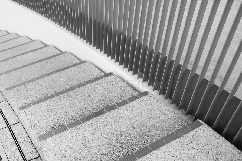 Spiral stairway. Interior view of spiral stairway stock photography