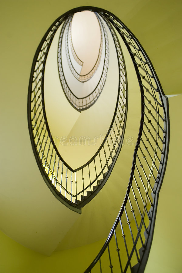 Download Spiral stairway stock photo. Image of floor, stone, architecture - 1575454