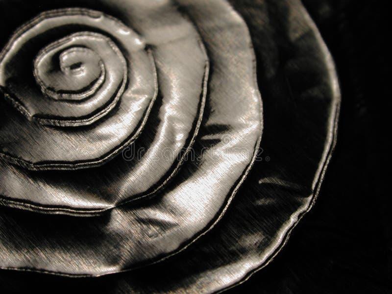 spiral textur för metalliska former royaltyfri bild