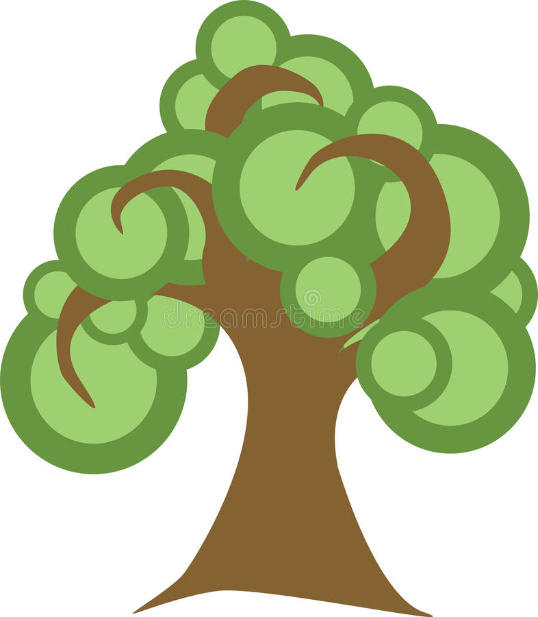 Download Spiral Tree stock vector. Illustration of environment - 19285329