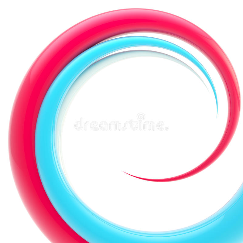 Download Spiral Twirl As Abstract Background Stock Illustration - Image: 24354330