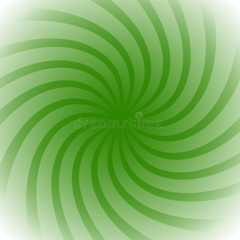 Spiral, vortex starburst, sunburst colorful background. Easy to vector illustration