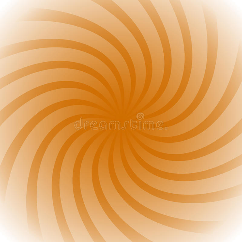 Spiral, vortex starburst, sunburst colorful background. Easy to royalty free illustration