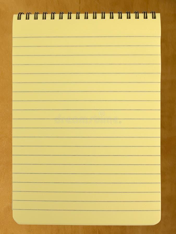 Spirala - obszyty żółty legalny ochraniacz obrazy royalty free