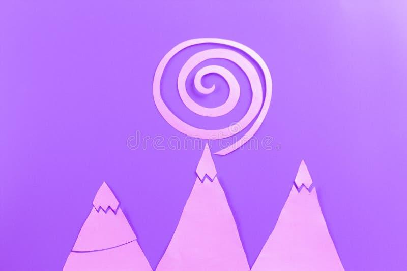 spirala startrails som bakgrunden royaltyfria foton