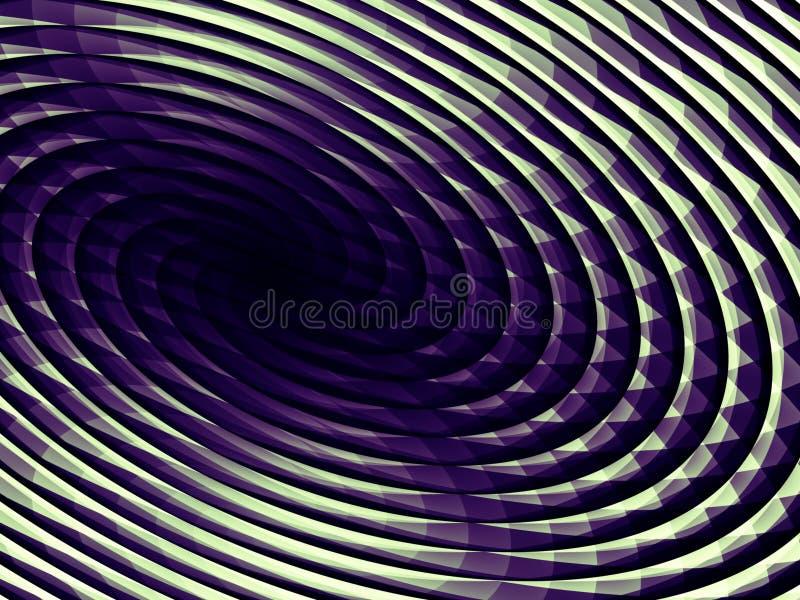 spirala tło royalty ilustracja
