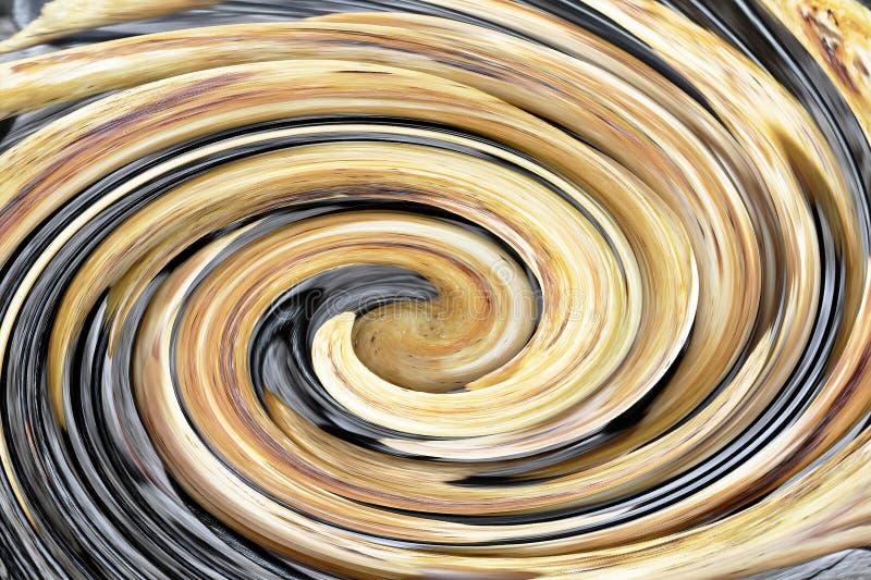 Spiralarm mit Sternen und Nebelfleck irgendwo im Weltraum - fantastisches Universumkonzept lizenzfreies stockfoto