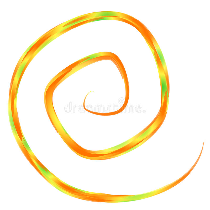 Spirale royalty illustrazione gratis