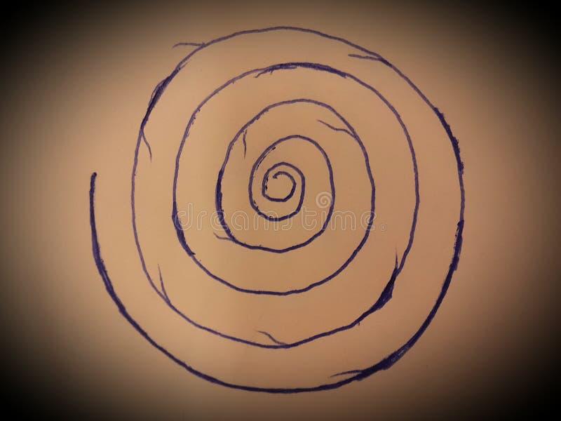 spirale photographie stock libre de droits